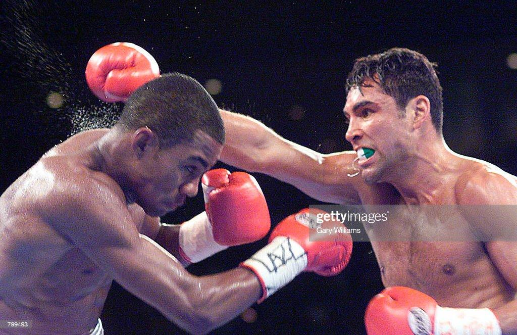 Trinidad Vs. De La Hoya : News Photo