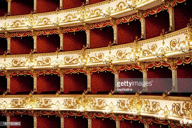 Boxes of Baroque Italian Theater