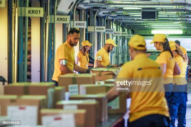 Cajas de cintas transportadoras en