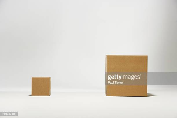 boxes - comparison stock pictures, royalty-free photos & images