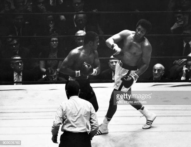 ABC SPORTS Boxing 2/16/70 Joe Frazier defeated Jimmy Ellis to establish himself as the new heavyweight champion of the world at New York City's...