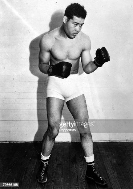 Boxing 21st June 1938 A picture of American Heavyweight Joe Louis