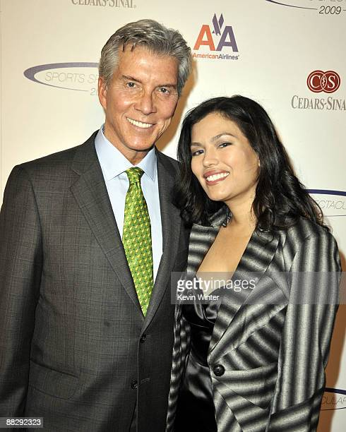 Boxing announcer Michael Buffer and his wife Christine arrive at the CedarsSinai Medical Center's 24th Annual Sports Spectacular at the Century Plaza...