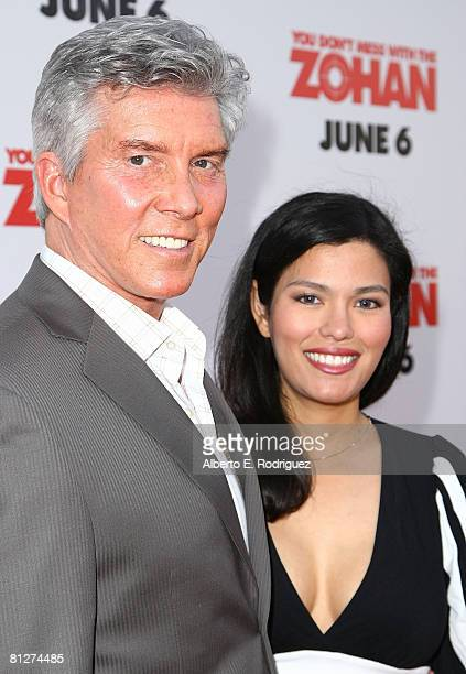 Boxing announcer Michael Buffer and wife Christy Buffer arrive at the premiere of Sony Pictures 'You Don't Mess With The Zohan' held at Grauman's...