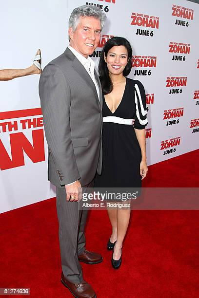 Boxing announcer Michael Buffer and wife Christy Buffer arrive at the premiere of Sony Pictures'You Don't Mess With The Zohan' held at Grauman's...