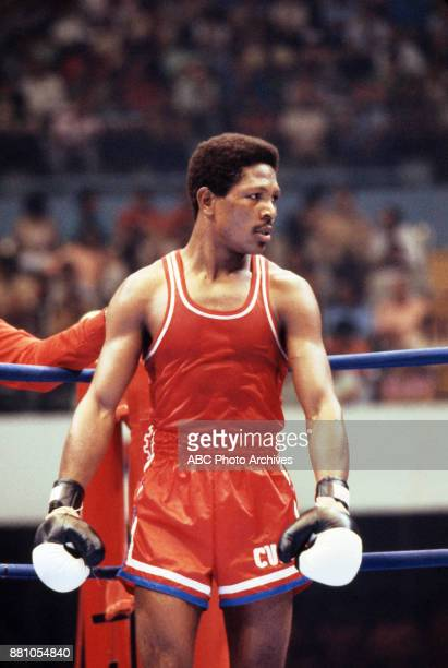 Boxing at Olympic Stadium August 1983 Pan American Games