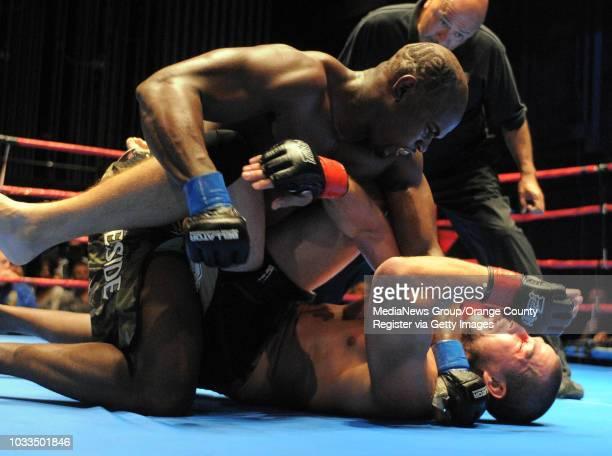 Boxing At The Beach. Boxing and MMA bouts at the Redondo Beach Performing Arts Center. In an mixed martial arts bout, Lamar Jiles of Temecula beat...
