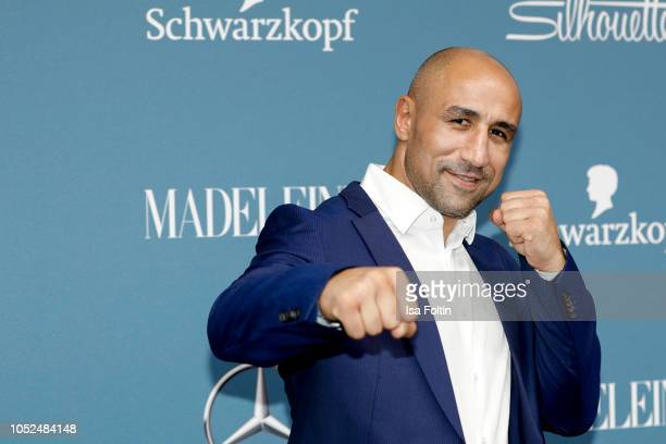 Boxing champion Arthur Abraham during the Tribute To Bambi at Kraftwerk Mitte on October 18 2018 in Berlin Germany
