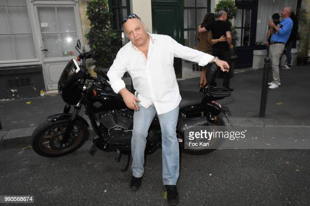 Boxing champion Franck Tiozzo attends Jamais A Terre Jo Prestia Book Signing At Art Cube Galerie on July 7 2018 in Paris France `