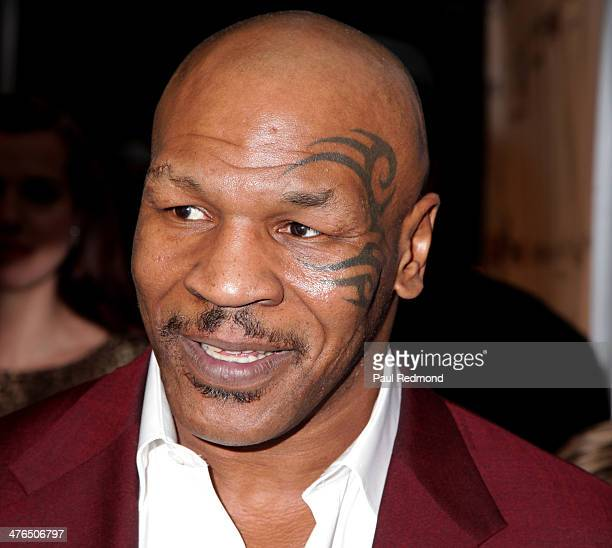 Boxing champion Mike Tyson attending the 15th Annual Academy Awards Viewing Party Benefiting Children Uniting Nations at Warner Bros Estate on March...