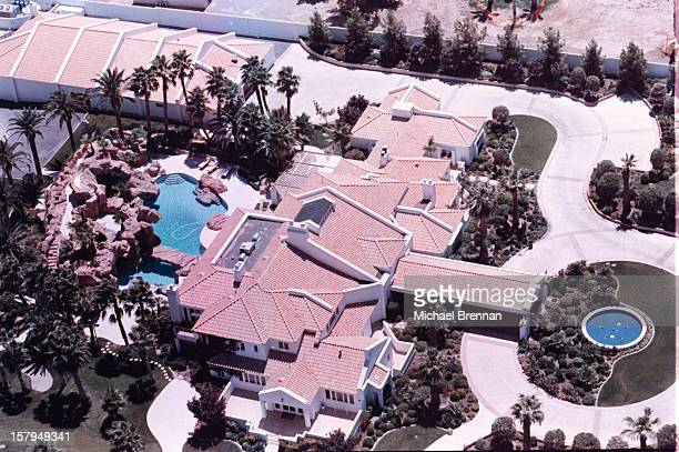 Boxing champion Mike Tyson's house just off Sunset Road and Pecos in Las Vegas 16th August 1995