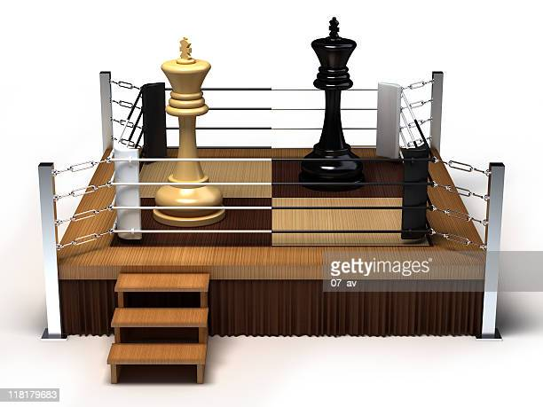 Boxing chess kings