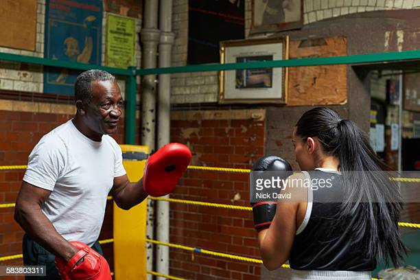 boxing club - manager stock pictures, royalty-free photos & images
