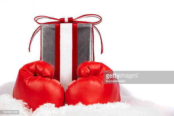 boxing day gift - boxing day stock pictures, royalty-free photos & images