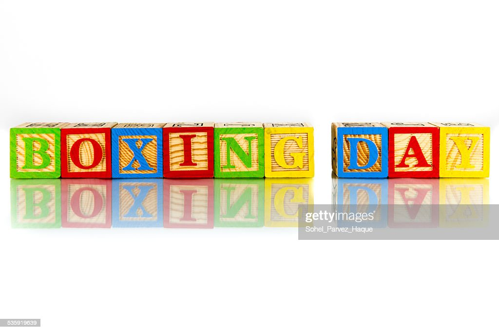 boxing day : Stock Photo