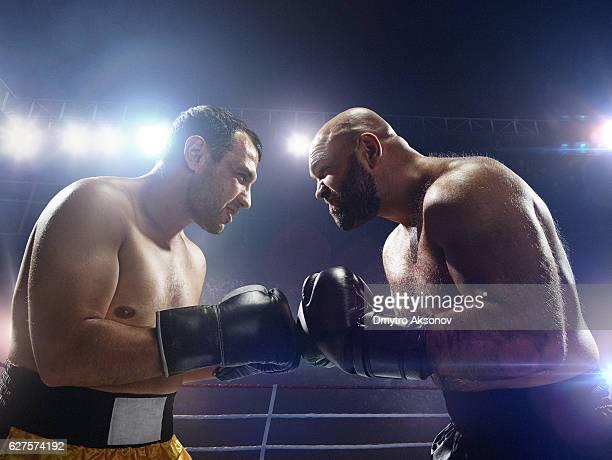 boxing: face to face - boxing gloves bildbanksfoton och bilder