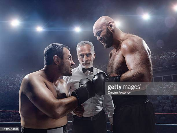 Boxing: Face to face