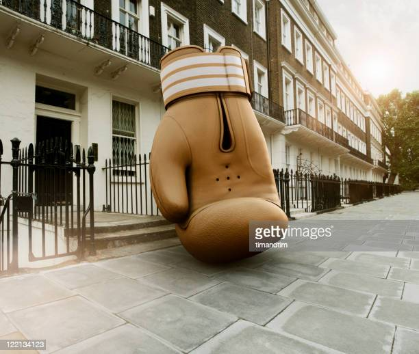 boxing glove in . london - comparison stock photos and pictures