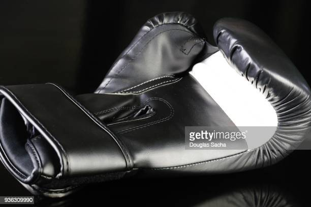 MMA Boxing Glove on a black background