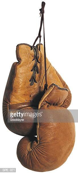 Boxing gloves, brown