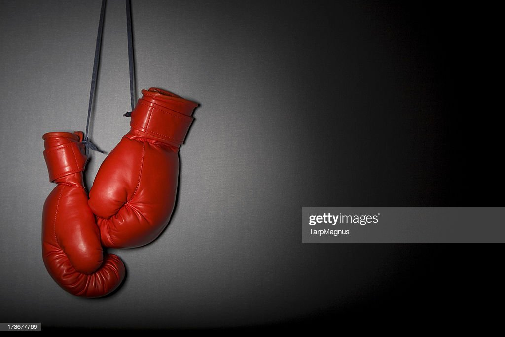 Boxing gloves : Stock Photo