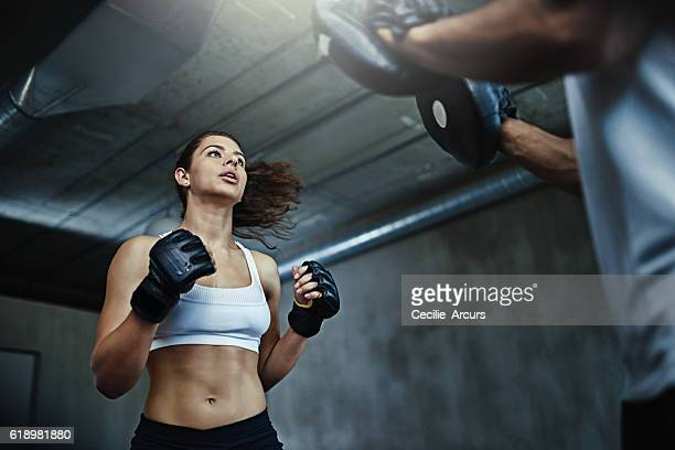 Boxing her way to a knockout body