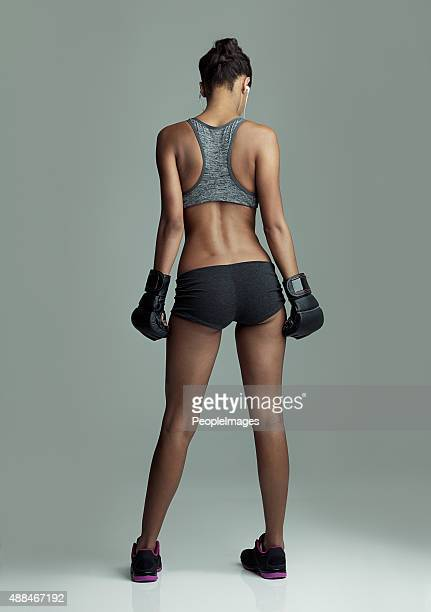 Boxing keeps her in shape