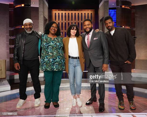 TRUTH 506 Boxing legend Mike Tyson comedian and actor Deon Cole actress and model Rumer Willis and actress Jenna Fischer make up the celebrity panel...