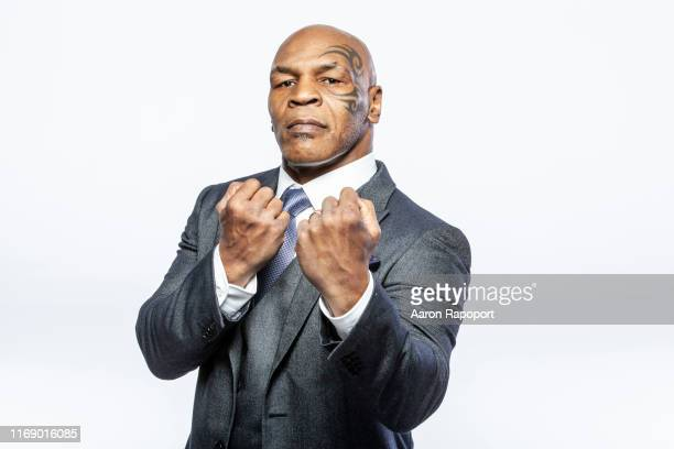Boxing Legend Mike Tyson poses for a portrait in December 2015 in Los Angeles, California.
