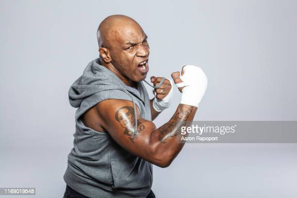 Boxing Legend Mike Tyson poses for a portrait in December 2015 in Los Angeles California
