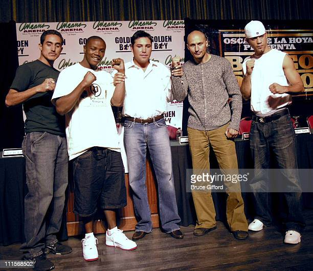 Boxing Legend Oscar De La Hoya and HBO Latino presents Boxeo de Oro a scheduled IBF world championship bout World Champion Kassim The Dream Ouma vs...