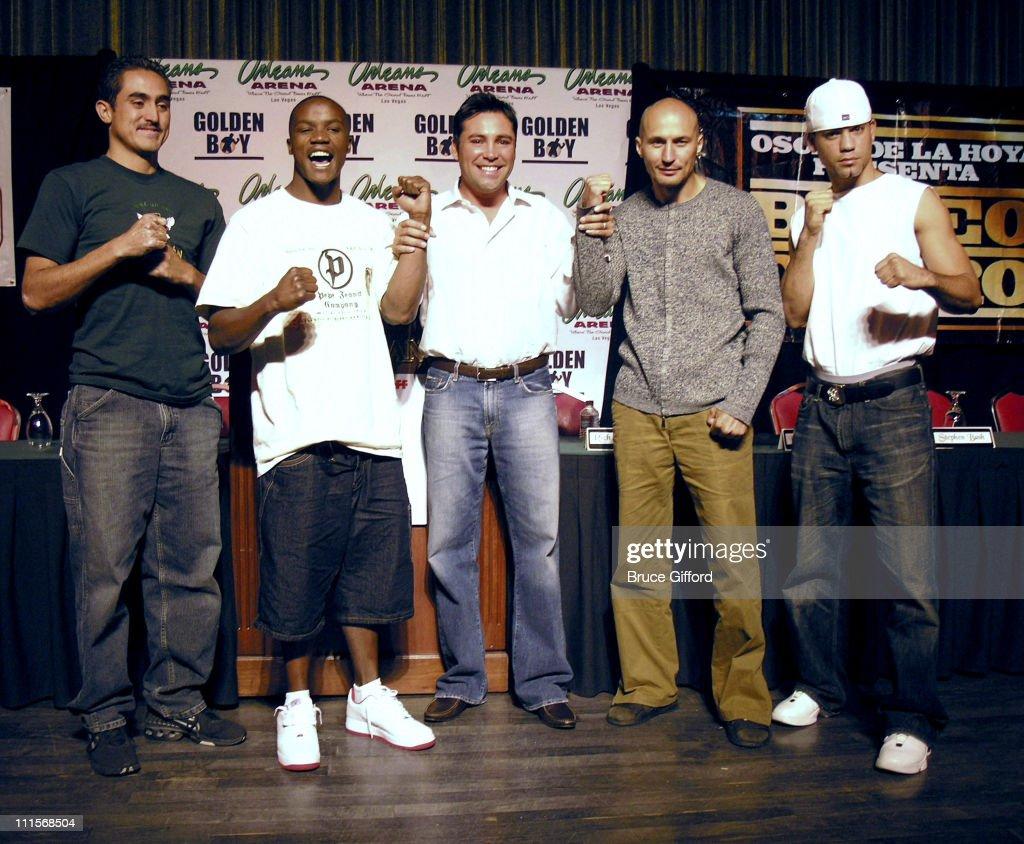 af65b802ea12 Boxing Legend Oscar De La Hoya and HBO Latino presents Boxeo de Oro ...