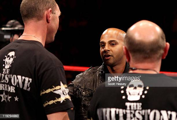 Boxing manager David Coldwell during the WBO Intercontinental Welterweight Championship bout between Frankie Gavin and Curtis Woodhouse at Echo Arena...