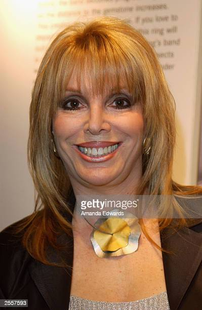 Boxing manager Jackie Kallen poses at the Knockout Preview Party hosted by Jackie Kallen and Niessing Jewelry in the new Niessing shop at the Beverly...