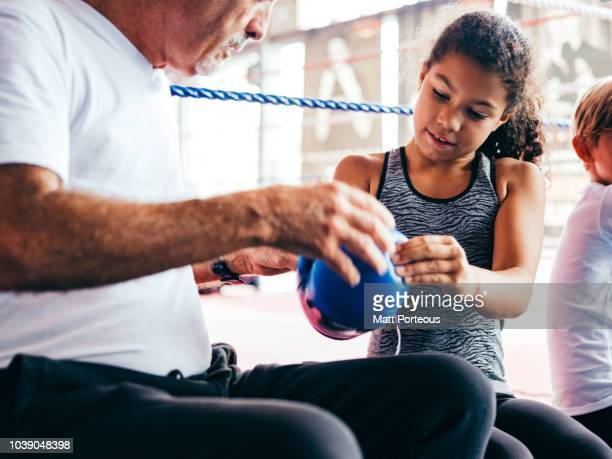 Boxing mentor helps kid