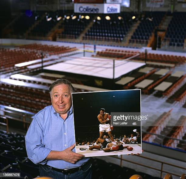 Boxing Portrait of SI special contributor Neil Leifer during photo shoot at St Dominic's Arena The arena now called the Colisee was the May 25 1965...