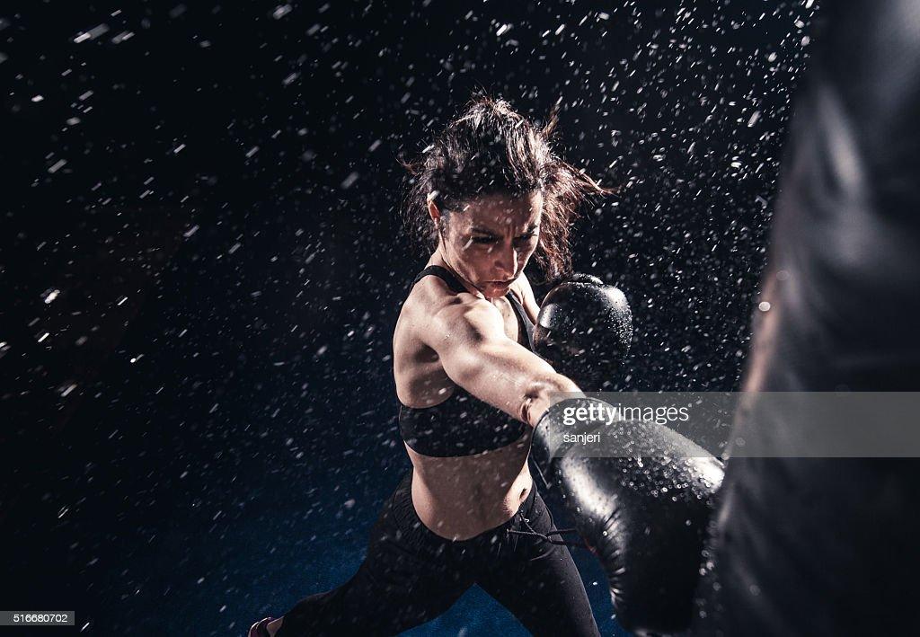 Boxing power : Stock Photo