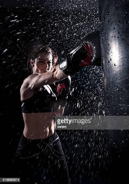 boxing power - boksen sport stockfoto's en -beelden