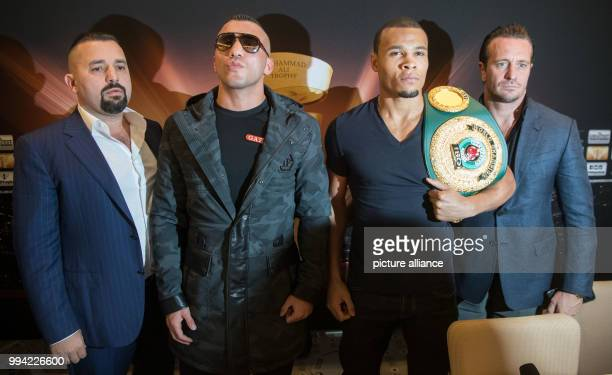 Boxing Press conference prior to the quarter finals of the World BoxingSuper Series in Stuttgart Germany September 14 2017 The Turkish Super...