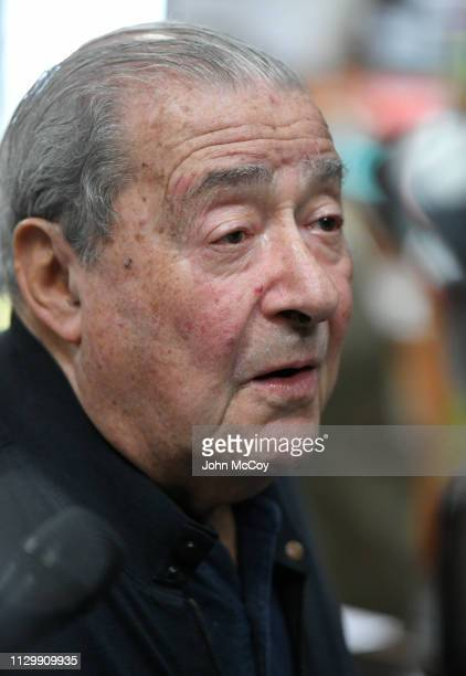 Boxing promoter Bob Arum seen at Fortune Gym on March 11 2019 in Los Angeles California