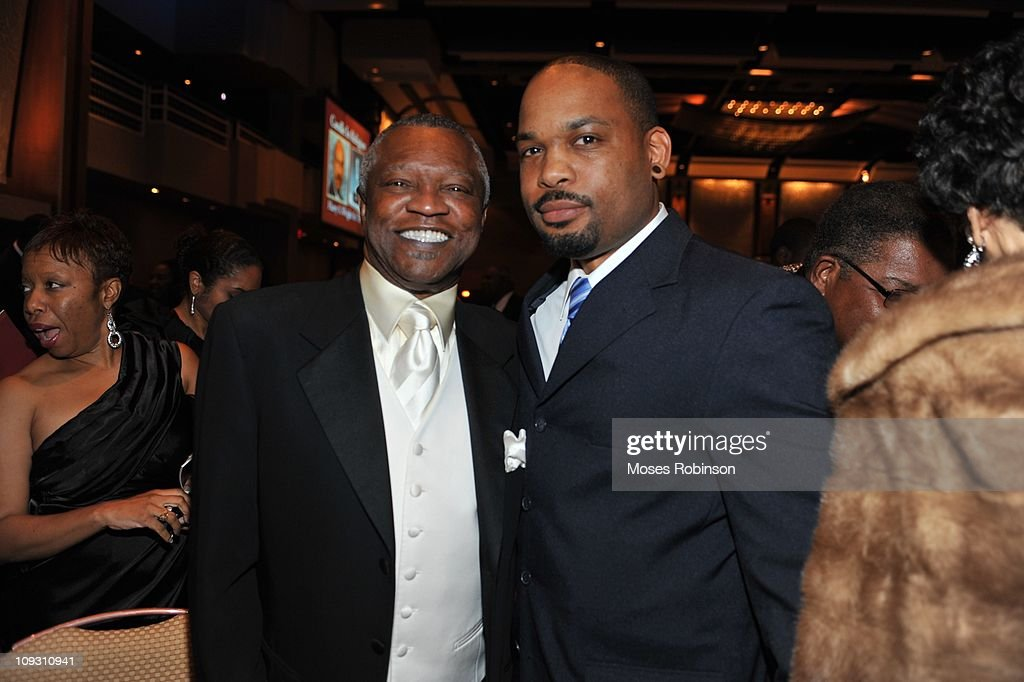 Boxing Promoter Butch Lewis and Lanero Hill attend the 23rd Annual 'A Candle in the Dark' Gala at the Hyatt Regency on February 19, 2011 in Atlanta, Georgia.