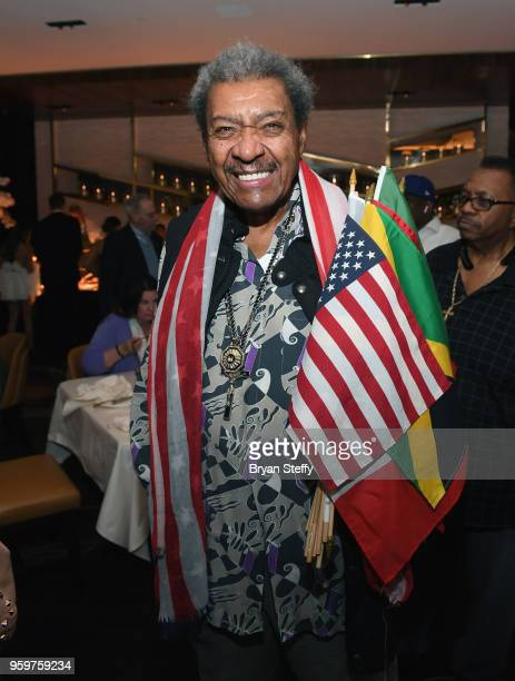 Boxing promoter Don King attends the From Dust To Gold preview party at the Palms Casino Resort on May 17 2018 in Las Vegas Nevada