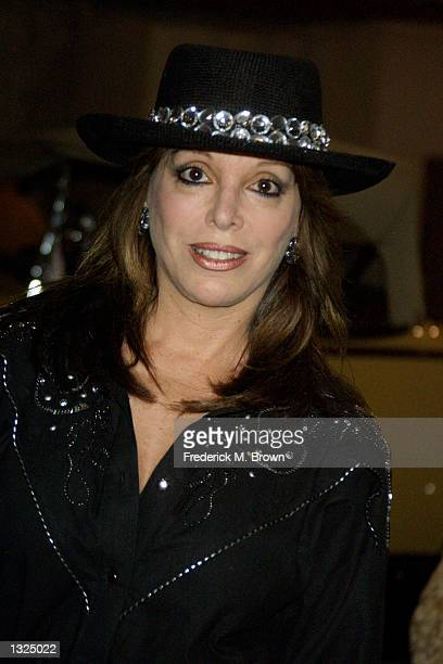 Boxing promoter Jackie Kallen arrives at the Country Western Barbecue to benefit abused women June 23 2001 in Studio City CA