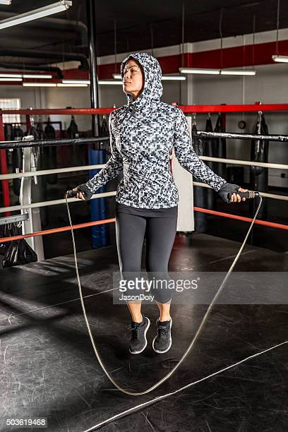 Boxe: Expiré le saut à la corde à la salle de boxe