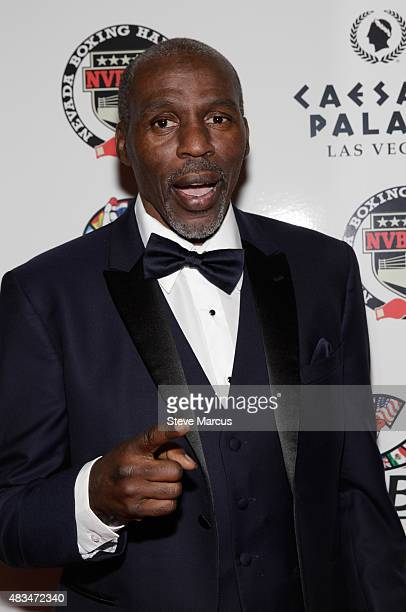 Boxing trainer Roger Mayweather attends the third annual Nevada Boxing Hall of Fame induction gala at Caesars Palace on August 8 2015 in Las Vegas...