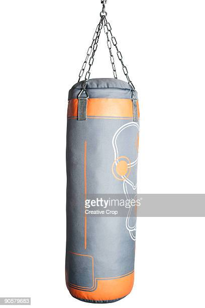 Boxing training punch bag