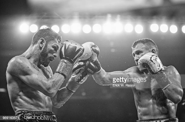 WBA Super World Lightweight Title Fight Vasiliy Lomachenko in action vs Jorge Linares at Madison Square Garden New York NY CREDIT Erick W Rasco