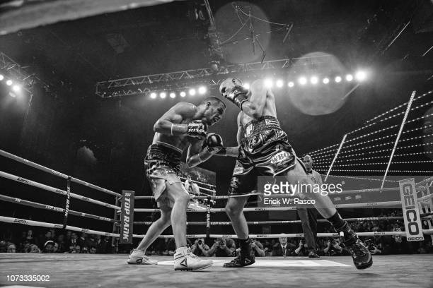 WBA / WBO Lightweight Title Jose Pedraza in action vs Vasiliy Lomachenko at Hulu Theater at Madison Square Garden New York NY CREDIT Erick W Rasco