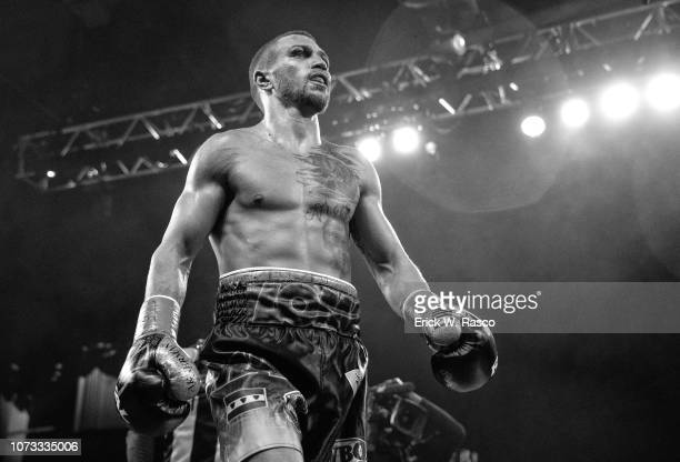 Lightweight Title: Vasiliy Lomachenko during fight vs Jose Pedraza at Hulu Theater at Madison Square Garden. New York, NY 12/8/2018 CREDIT: Erick W....
