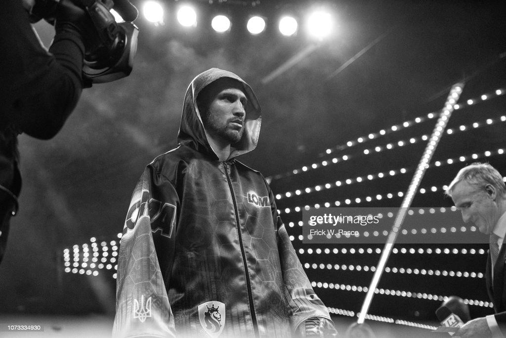 Vasiliy Lomachenko vs Jose Pedraza, WBA Super Lightweight / WBO Lightweight World Title : News Photo